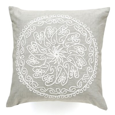 Charlita Cotton Throw Pillow Color: Khaki