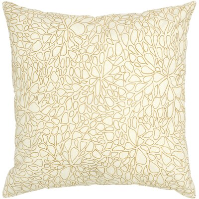 Charlize  Cotton Throw Pillow Color: Cream / Beige