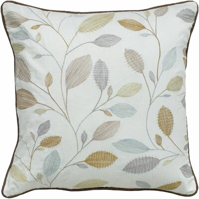 Leaf Cotton Throw Pillow