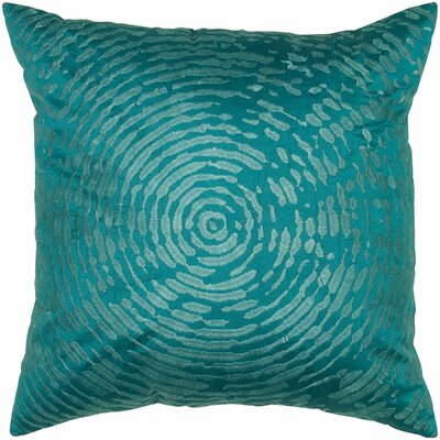 Cyerra  Pillow Cover Color: Peacock Blue
