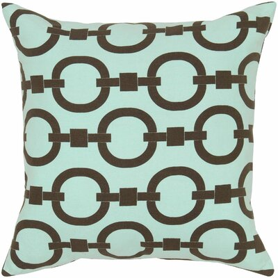 Charish  Cotton Pillow Cover Color: Blue