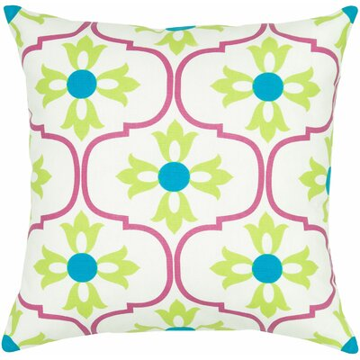 Charisha Cotton Throw Pillow Color: Pink