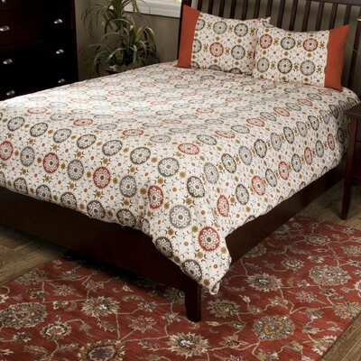 Dianah 3 Piece Comforter Set Size: California King