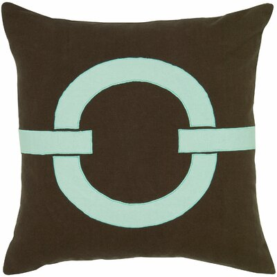 Charitie  Cotton Pillow Cover Color: Blue