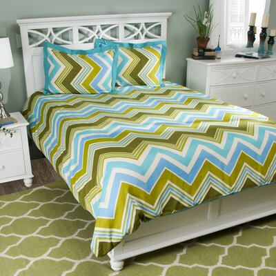 Comforter Set Size: King, Color: Teal
