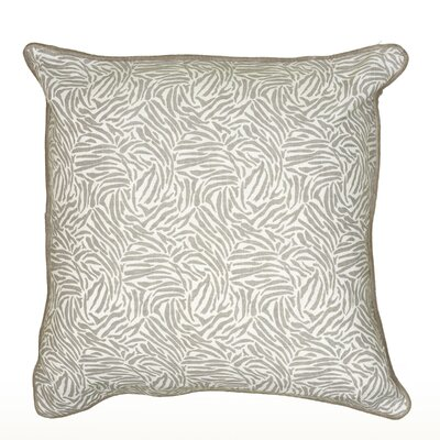 Cynthy Pillow Cover Color: Gray