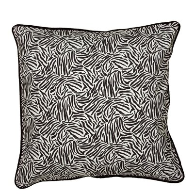 Cynthy Pillow Cover Color: Black