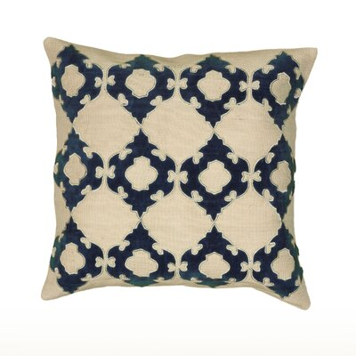 Mellie Pillow Cover Color: Blue