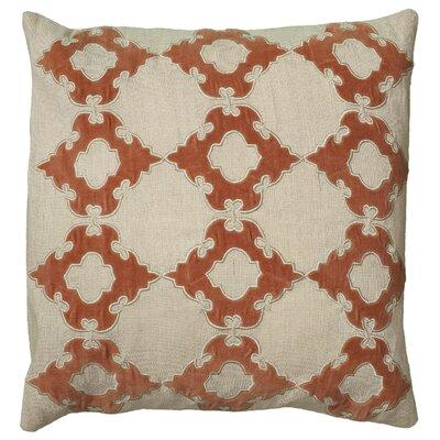 Dahliah Pillow Cover Color: Orange