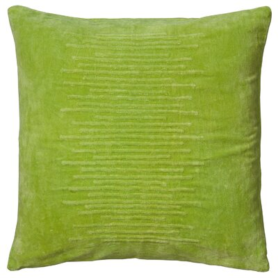 Dahrah  Pillow Cover Color: Lime