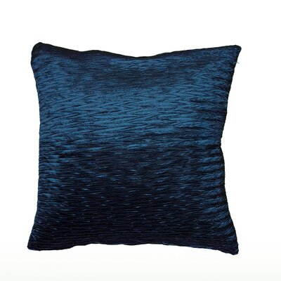 Ba Throw Pillow Color: Peacock Blue