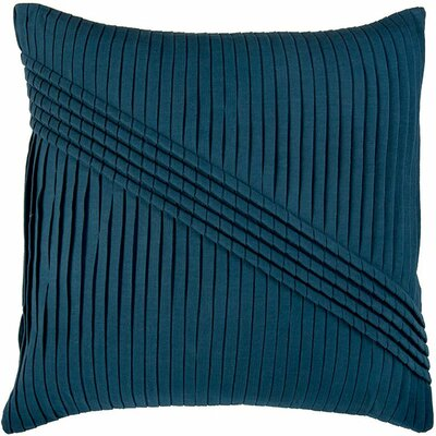 Dakira  Pillow Cover Color: Peacock Blue
