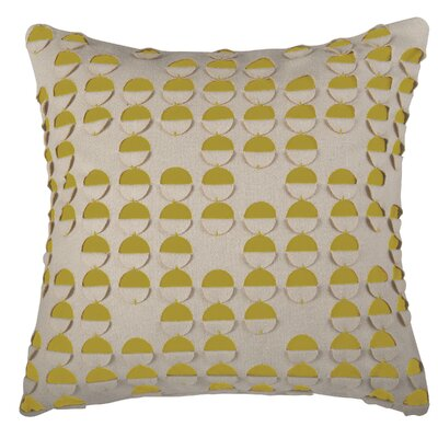 Dakodah  Pillow Cover Color: Yellow