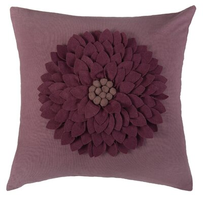 Dakote  Pillow Cover Color: Maroon