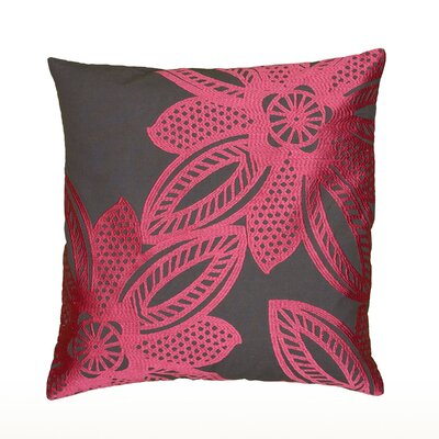 Dakshina Throw Pillow Color: Hot Pink