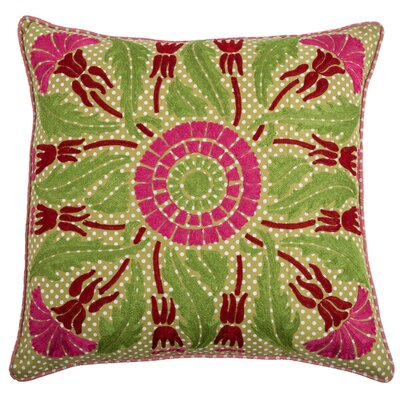 Charly  Cotton Throw Pillow