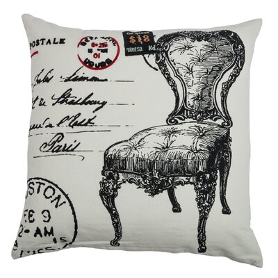 Charmain  Cotton Throw Pillow