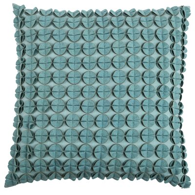Denice Throw Pillow Color: Light Blue