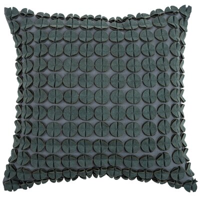 Denice Throw Pillow Color: Grey