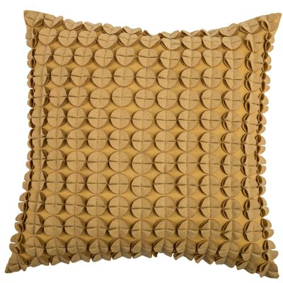 Denice Throw Pillow Color: Butter Yellow
