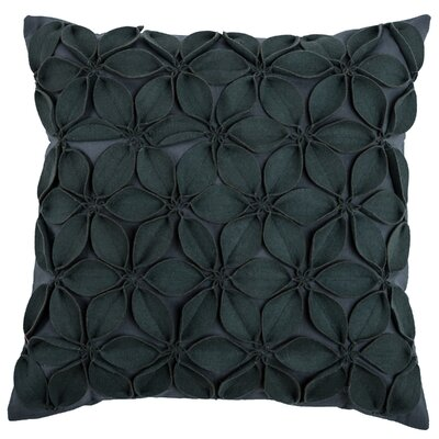 Florent Throw Pillow Color: Dark Grey