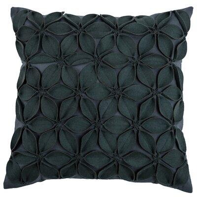 Florent Throw Pillow Color: Dark Grey