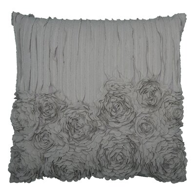 Denika Throw Pillow Color: Soft Gray