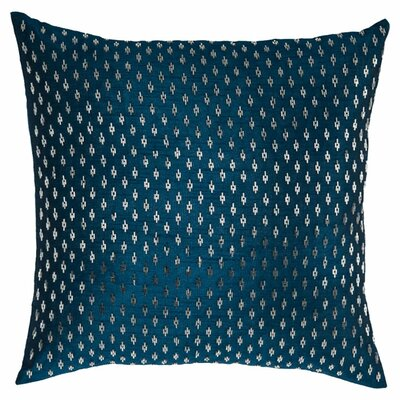 Denisa  Throw Pillow Color: Blue