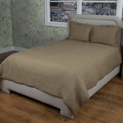 Cherrilyn  Duvet Cover Size: King, Color: Khaki