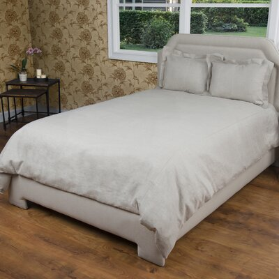 Cherrilyn  Duvet Cover Size: King, Color: Stone