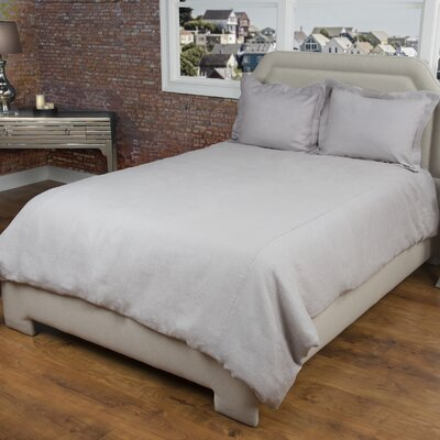 Cherrilyn  Duvet Cover Size: Queen, Color: Silver