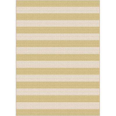 Fairhaven Yellow/Cream Indoor/Outdoor Area Rug Rug Size: Rectangle 710 x 103