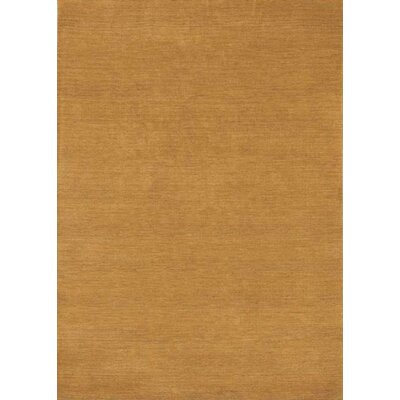 Henley Hand-Tufted Copper Area Rug Rug Size: 9 x 12