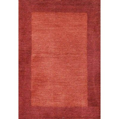 Henley Hand-Tufted Cranberry Area Rug Rug Size: 8 x 10