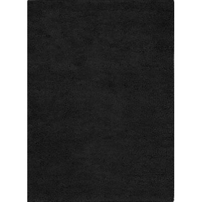Henley Hand-Tufted Black Area Rug Rug Size: 5 x 8