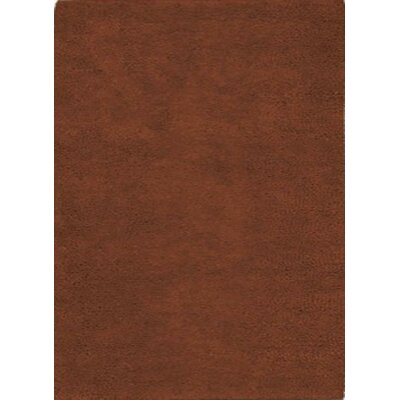 Henley Hand-Tufted Rust Area Rug Rug Size: 5 x 8