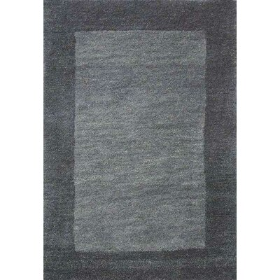 Henley Hand-Tufted Gray Abbey Area Rug Rug Size: 9 x 12