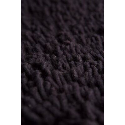 Eyeball Hand-Woven Charcoal Area Rug Rug Size: 4 x 6