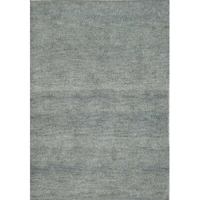 Henley Hand-Tufted Porcelain Blue Area Rug Rug Size: 3 x 5
