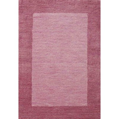 Henley Hand-Tufted Strawberry Cadillac Area Rug Rug Size: 8 x 10