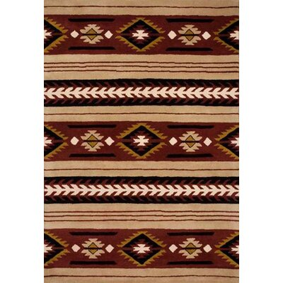 Southwest Hand-Tufted Area Rug Rug Size: 3 x 5
