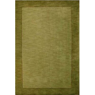 Henley Hand-Tufted Green Dark Area Rug Rug Size: 5 x 8