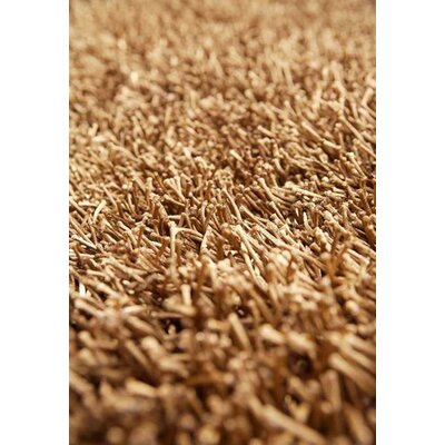 Eva Hand-Woven Beige Area Rug Rug Size: Rectangle 4 x 6