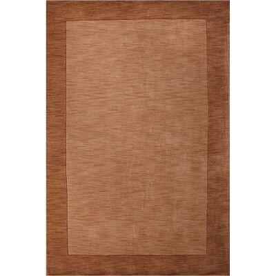 Henley Hand-Tufted Beige Dark Area Rug Rug Size: 9 x 12