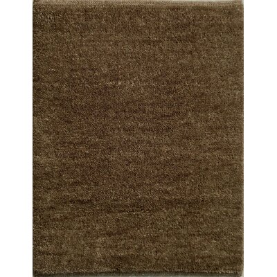 Henley Hand-Tufted Espresso Area Rug Rug Size: 8 x 10