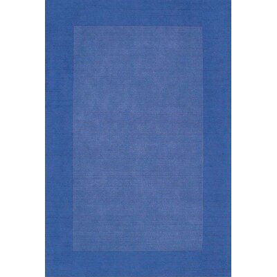 Henley Hand-Tufted Blue Dark Area Rug Rug Size: 9 x 12