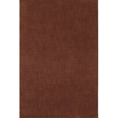 Henley Hand-Tufted Chocolate Area Rug Rug Size: 9 x 12