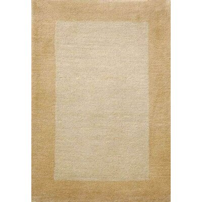 Henley Hand-Tufted Ivory/Bronze Area Rug Rug Size: 9 x 12