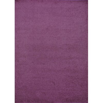 Henley Hand-Tufted Purple Area Rug Rug Size: 9 x 12