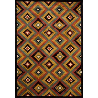 Southwest Hand-Tufted Area Rug Rug Size: 5 x 8